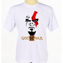 Camisa God Of War Série Jogo Video Game Ação Aventura