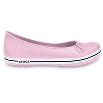 Flats Crocsband Talla M7-w9 Mex 25.5/26 Tono Rosa Pastel.mmu