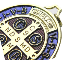 [ Ahora En México] Medalla San Benito Italiana [ Autentica]
