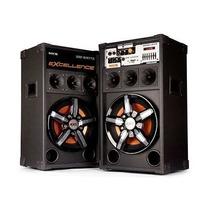 Caixa Amplificadora Nks 300w Rms Dupla Excellence Pk 1000