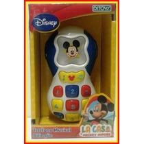 Teléfono Musical Bilingue Mickey Mejor Precio!!