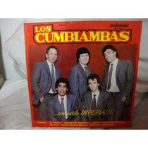 Vinilo Los Cumbiambas Con Estilo Imperial P4