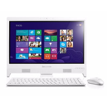 Lenovo All In One C260 Intel J1800 19.5 Blanca