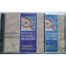Cd Ricardo Kanji - História Da Música Brasileira