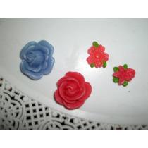 Molde Flexible,ideal Para Yeso Porcelana Jabon Flores