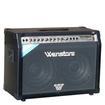 Wenstone Ge 1200 Twin Eminence Amplificador De Guitarra 120w