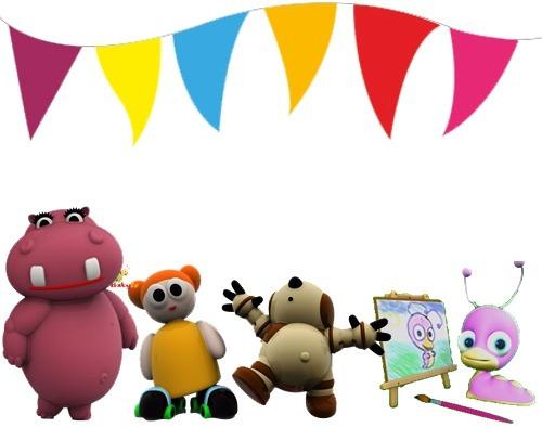 Kit Imprimible Baby Tv Candy Bar Cotillon Tarjetas Cumple 2 - $ 54 ...