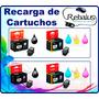 Recarga Cartucho Multifunción Impresora Canon 3110 3510 4110