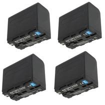 4 Baterias Np-f960 P/sony Hvr-hd1000n Hxr-mc2000n Hxr-mc1500
