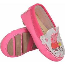 Sapatinho Bebe Infantil Menina Customizado Peppa Pig 17/22