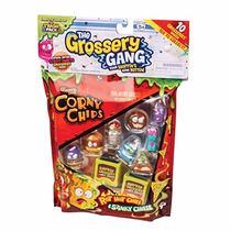 The Grossery Gang Corny Chips 10 Figure Pack Dtc