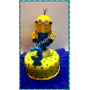 Torta Minion - Minnie- O Tu Personaje Favorito Precio Por Kg