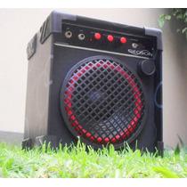 Amplificador Recargable Portatil Guitarra Y Voz, Geoson !