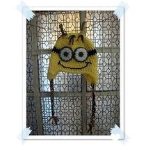 Gorro Minion - Crochet