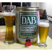 Cerveza Dab Barril 5l Original!! Made In Alemania