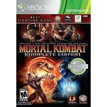 Mortal Kombat Komplete Edition Platinum Hits Xbox 360 Nuevo