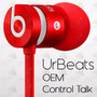 Audifonos Beats Urbeats Control Talk Oem | Hi-fi | Zbyte