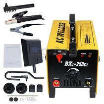Maquina De Soldar De Arco 250 Amp 110v/220v Con Accesorios