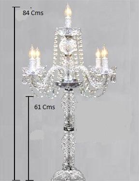 Candelabros cristal precio de mayoreo importado bodas 5 en mercado libre - Cristal climalit precio ...
