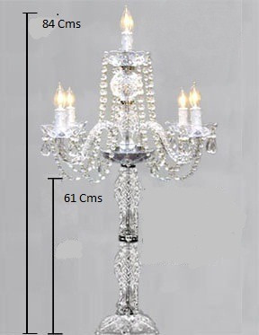 Candelabros cristal precio de mayoreo importado bodas - Comprar tarros de cristal pequenos ...
