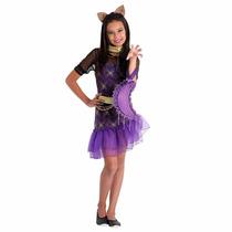 Fantasia Infantil Luxo Monster High - Clawdeen Wolf - Tam M