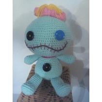 Crochet Auro Amigurumis Lilo Y Stich Muñeca Trapo Tejida