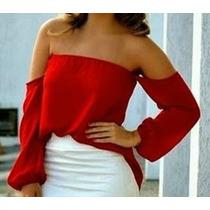 Blusas Limonni Dama Campesinas Mujer Elegantes Colores 036