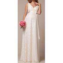 Vestido Gestante Grávida Noiva Madrinha Rend Festa Casamento