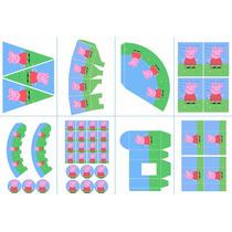 Kit Imprimible Peppa Pig Fiestas Infantiles Candy Bar 2x1