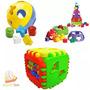 Kit 3 Brinquedos Didáticos Infantis Bebê Educativo Criança
