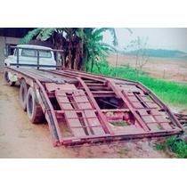 Caminhão Prancha Ford Modelo 22.000 Traçado