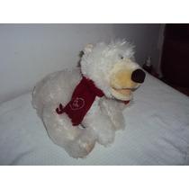 Boneco De Pelúcia Urso Branco Mexe A Cabeça Zimex P4