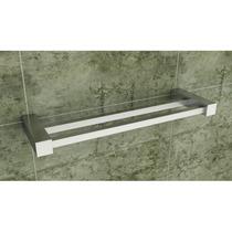 Kit Conjunto Banheiro Metais Quadrado Inox Modelo Ilhéus 27