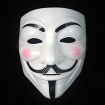 Mascara V Vendetta Venganza Tamaño Adulto Disfraz Anonymous