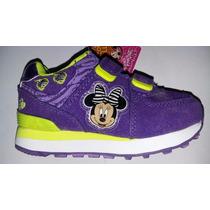 Zapatillas Addnice Minnie Con Luces