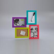 Porta Retratos Ou Quadro De Recados Varias Fotos - R4086