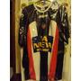 Camiseta Fútbol Chacarita Mitre 2005 Usada Juego X Pereyra