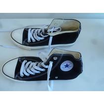 Zapatillas Converse All Start 8 Y 1/2 Negras Nuevas