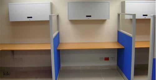 Divisiones, Muebles Modulares Y Silleria De Oficinas - $ 1,500.00 en Mercado ...