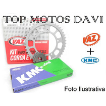 Kit Relação Completa Yamaha Tdm 850 91/95 Vaz X Kmc
