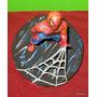 Hombre Araña Spiderman Adorno Para Torta Porcelana Fría