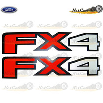 Sticker Calcomania Ford F150 2015 2016 Fx4 Para Costad Batea