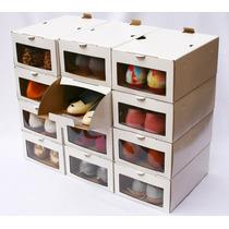Caja Zapatos Organizadora (hasta Talle 40)-pack 12 Unidades