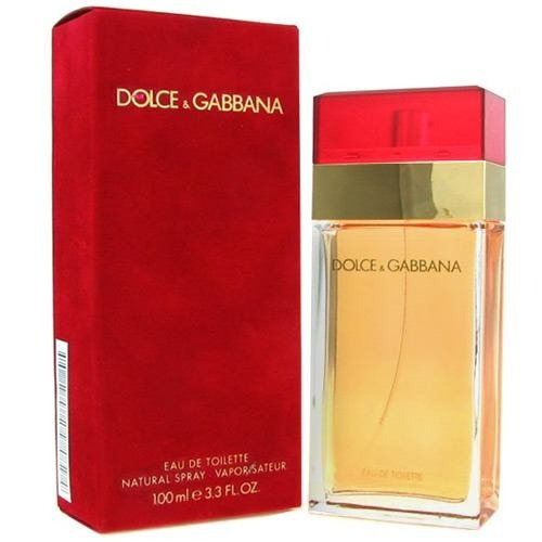 Perfume Dolce   Gabbana 100ml Vermelho Feminino Tradicional - R  388 ... 6044bf95a9