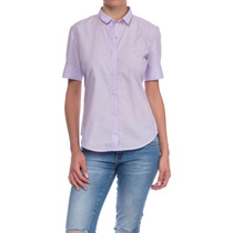 Camisa Mujer Kevingston Oficial Helina Bsness Liso M/c