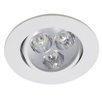 Spot Led 3w Lampada Dicroica Direcionável Branco Frio