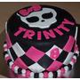 Mesa Dulce Monster High Promocion Con Torta Por $2600