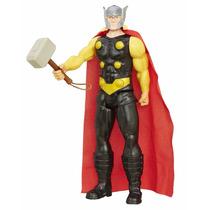 Kit 2 Boneco Avengers Titan Hero 30cm Thor E Homem De Ferro