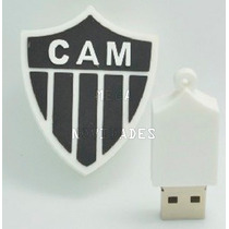 Pen Drive Time Clube Atlético Mineiro Cam 2-8 Gb