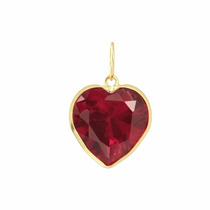 Pingente Coração Em Ouro 18k-750